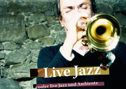Postkarte «Live Jazz»